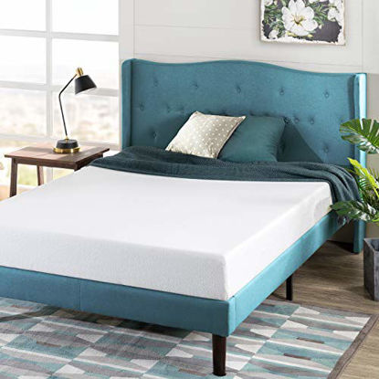 Picture of Zinus 6 Inch Green Tea Memory Foam Mattress / CertiPUR-US Certified / Bed-in-a-Box / Pressure Relieving, King